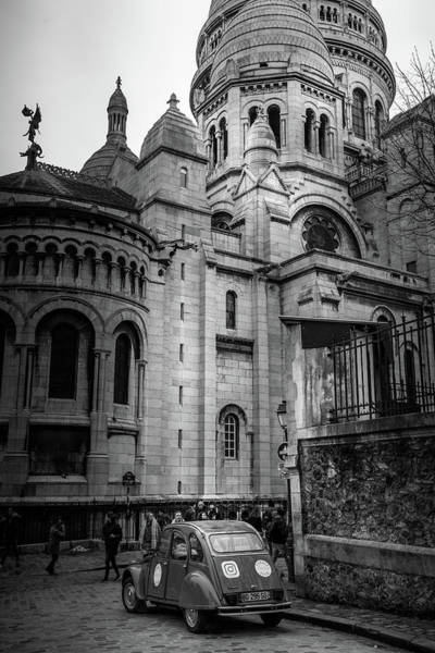 Wall Art - Photograph - French Icons - Sacre Coeur by Georgia Fowler