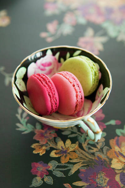 Food And Drink Photograph - French Macaron by Iain Bagwell