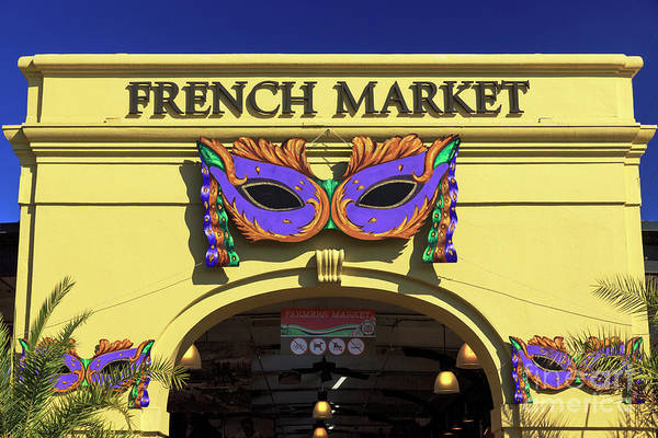 Wall Art - Photograph - French Market New Orleans by John Rizzuto