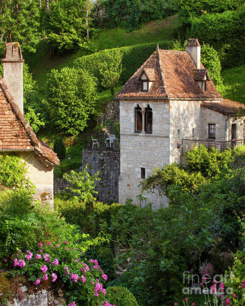 Photograph - French Medieval Village by Brian Jannsen