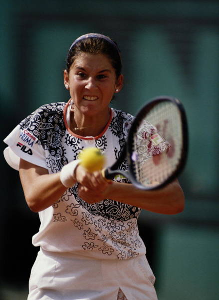 Graf Photograph - French Open Tennis Championship by Getty Images