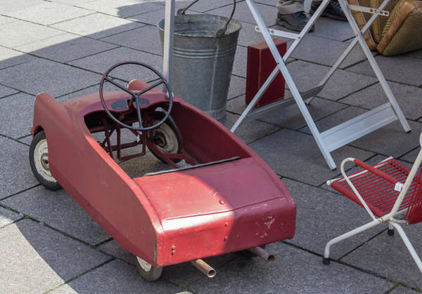Wall Art - Photograph - French Pedal Car by Teresa Mucha