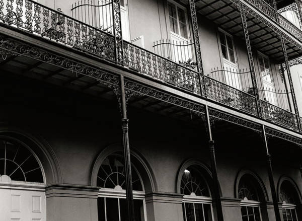 Southern Usa Photograph - French Quarter Detail No 2 by Bttoro
