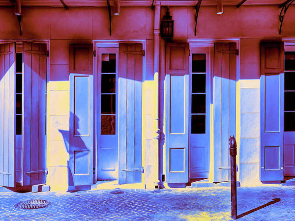 Photograph - French Quarter Moondance by Dominic Piperata