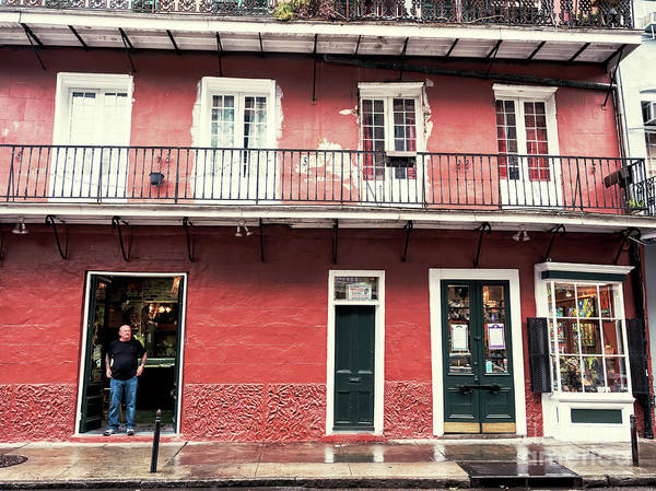 Photograph - French Quarter Morning In New Orleans by John Rizzuto