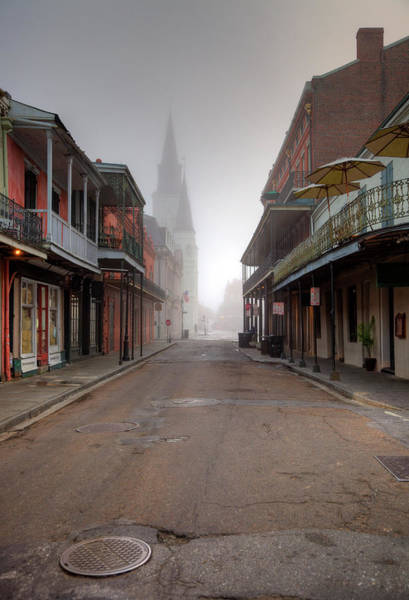 Louisiana Photograph - French Quarter New Orleans by Denistangneyjr