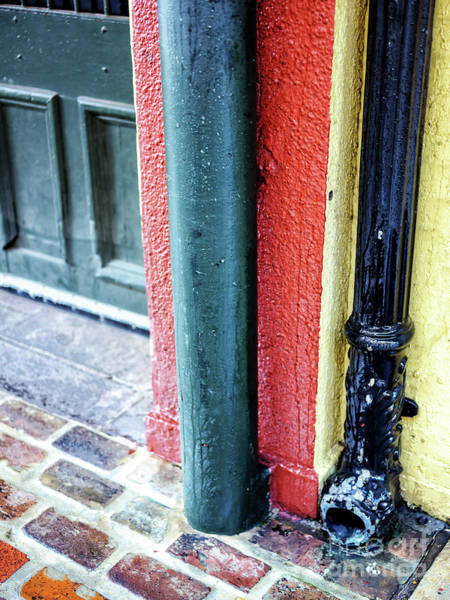 Photograph - French Quarter Street Colors In New Orleans by John Rizzuto