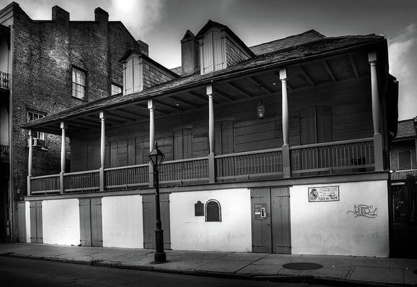 Wall Art - Photograph - French Quarter Vampire In Black And White by Greg and Chrystal Mimbs