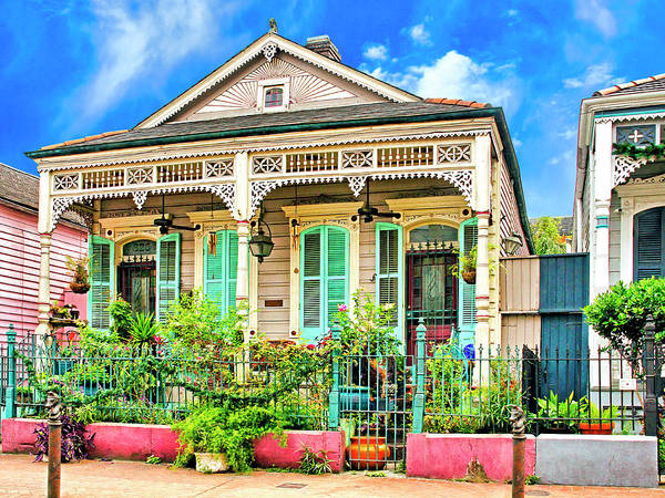 Photograph - French Quarter Victorian by Dominic Piperata