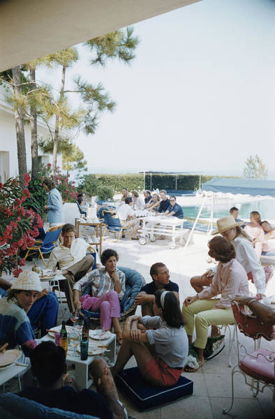 French Riviera Photograph - French Riviera by Slim Aarons