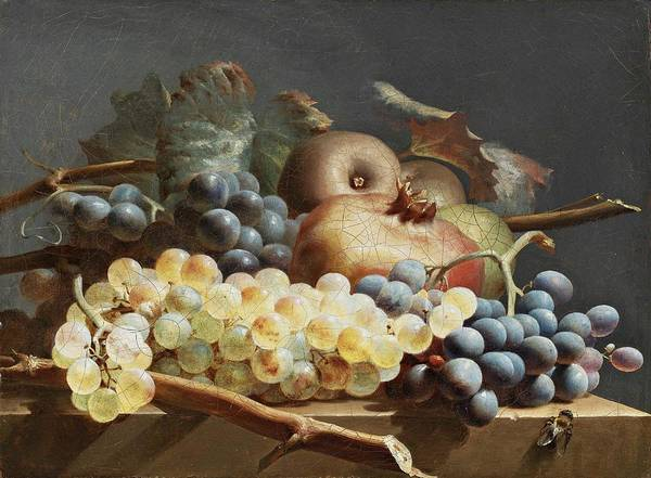Wall Art - Painting - French School, Circa 1800 - Still Life by French School