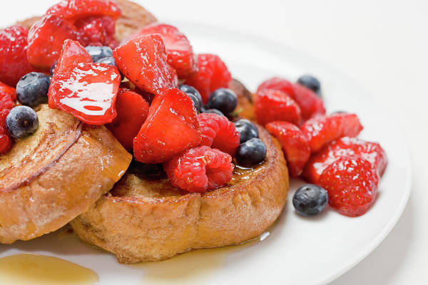 Wall Art - Photograph - French Toast With Berries And Maple by Inti St. Clair