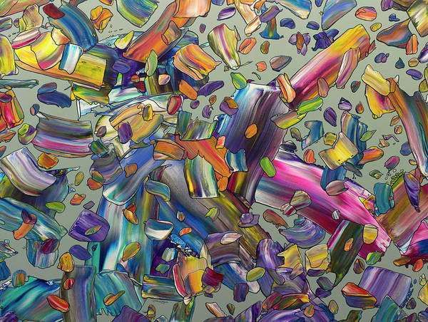 Painting - Frenzy by James W Johnson