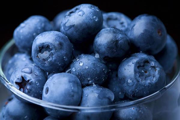 Wall Art - Photograph - Fresh Blueberry by Kativ