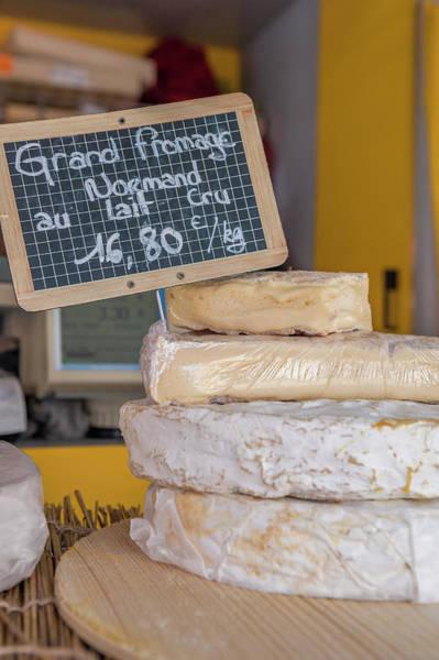 Wall Art - Photograph - Fresh Cheese, Bayeux, Normandy, France by Lisa S. Engelbrecht