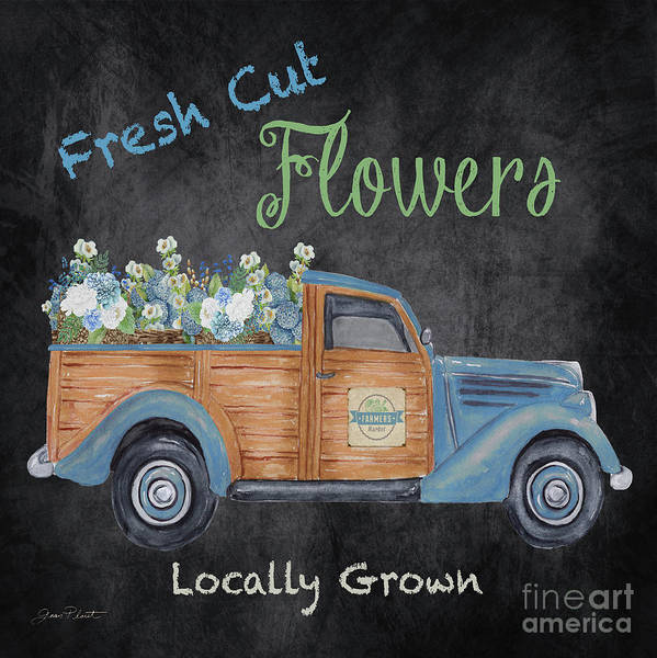 Wall Art - Painting - Fresh Cut Flowers B by Jean Plout