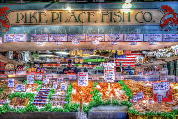 Wall Art - Photograph - Fresh Fish At The Market by Spencer McDonald