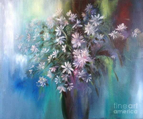 Wall Art - Painting - Fresh From An English Garden  by Lizzy Forrester