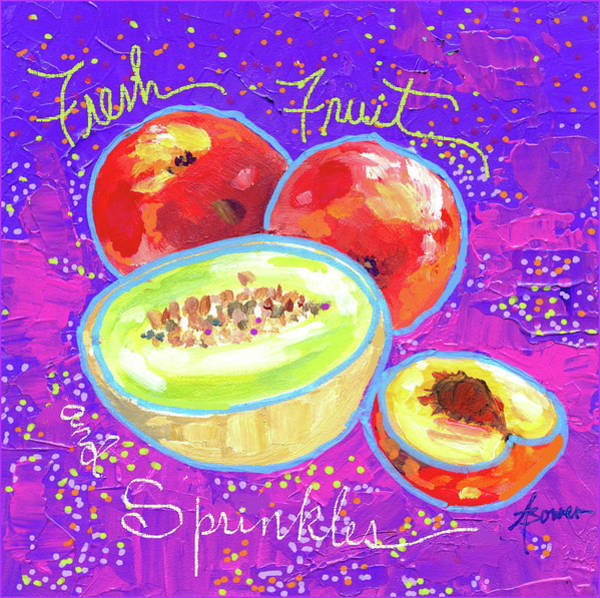 Painting - Fresh Fruit And Sprinkles  by Adele Bower