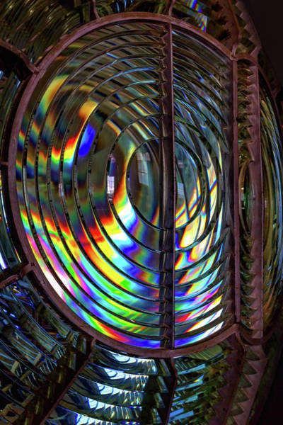 Wall Art - Photograph - Fresnel Lens Point Arena Lighthouse by Kathleen Bishop
