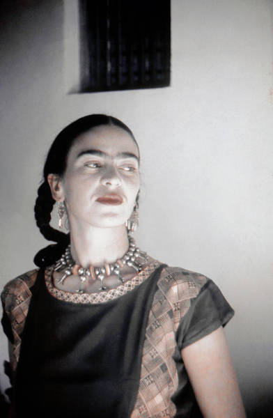 Wall Art - Photograph - Frida Kahlo by Michael Ochs Archives