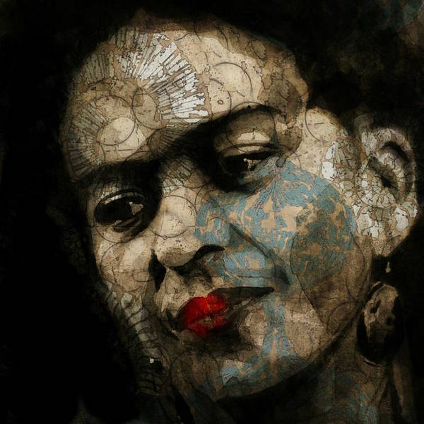 Wall Art - Mixed Media - Frida Kahlo - Retro  by Paul Lovering
