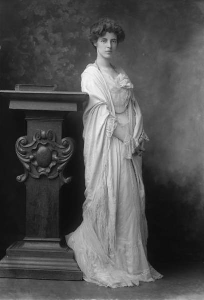 Evening Wear Photograph - Fringed Shawl by George C Beresford