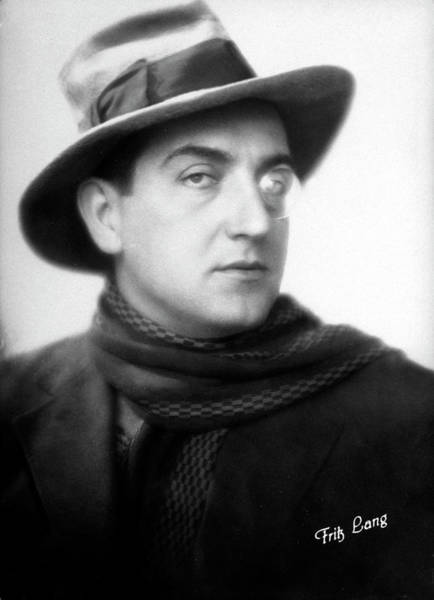 Photograph - Fritz Lang by Time Life Pictures