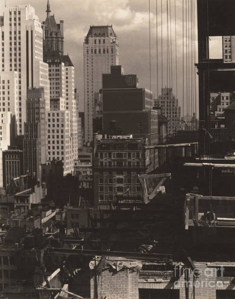 Wall Art - Photograph - From My Window At An American Place, North, 1931  by Alfred Stieglitz