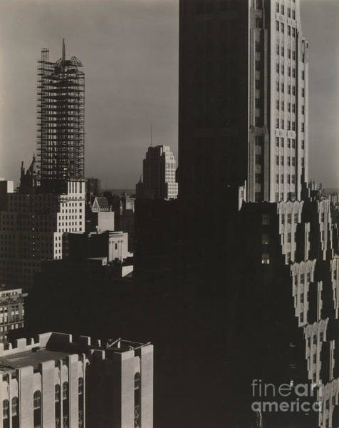 Wall Art - Photograph - From My Window At The Shelton, North, 1931  by Alfred Stieglitz