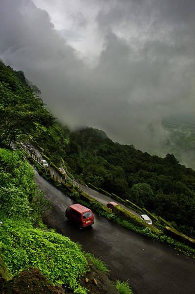 Monsoon Photograph - From Neral To Matheran by Paramantapa Dasgupta
