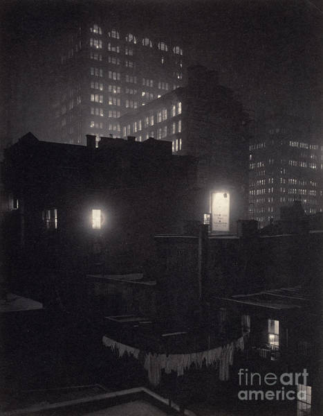 Wall Art - Photograph - From The Back Window, 291 Ny Winter by Alfred Stieglitz