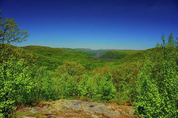 Photograph - From The Top Of Timp Mountain Spring Green by Raymond Salani III