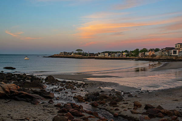 Photograph - Front Beach Rockport Ma At Sunser by Toby McGuire