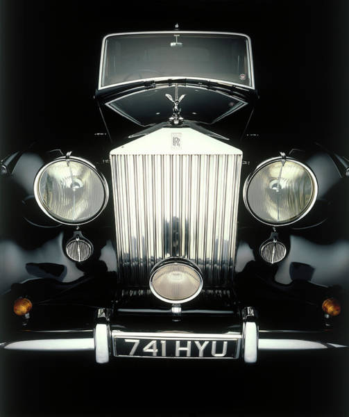 Mode Of Transport Photograph - Front End Of Old Rolls Royce by Rick Kooker Photography