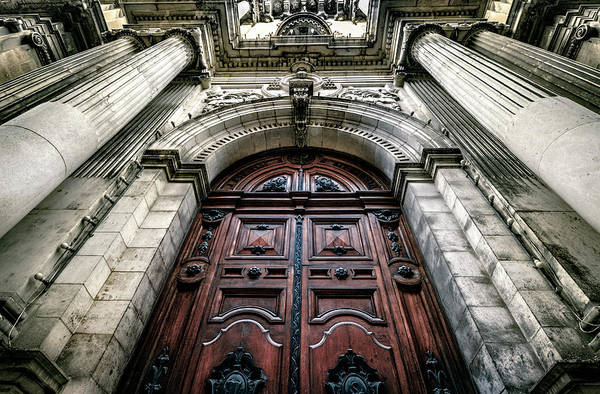 Wall Art - Photograph - Front Entry St. Paul's Church Of The Shipwreck - Malta by Daniel Hagerman