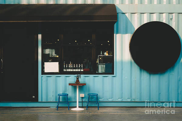 Wall Art - Photograph - Front Of Coffee Shop by Smiley.dog