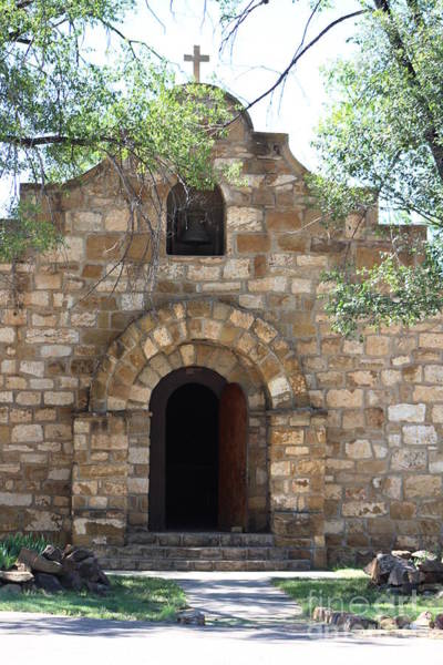 Photograph - Front Of Old Chapel Fort Stanton New Mexico by Colleen Cornelius