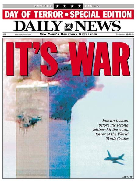 Front Page Photograph - Front Page Of The Daily News Dated by New York Daily News Archive