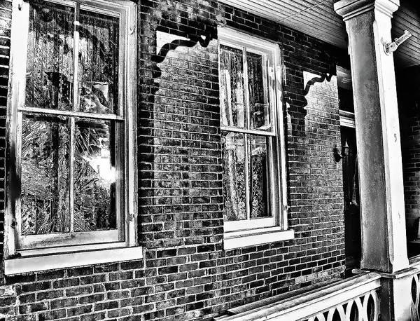 Photograph - Front Porch. New Market, Va by Bill Jonscher