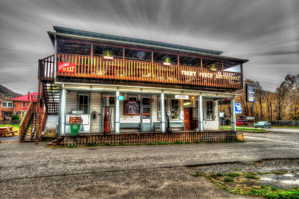 Photograph - Front Porch Restaurant Near Seneca Rocks by Dan Friend