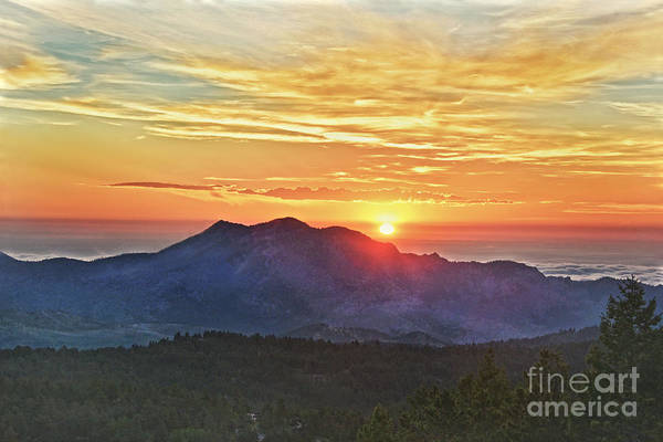 Wall Art - Photograph - Front Range Sunrise, Colorado by Catherine Sherman