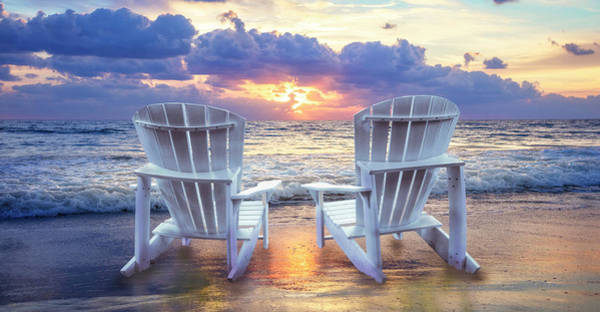 Photograph - Front Row Seats At Sunrise Panorama by Debra and Dave Vanderlaan