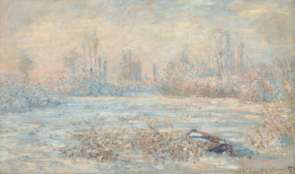 Painting - Frost, 1880 by Claude Monet
