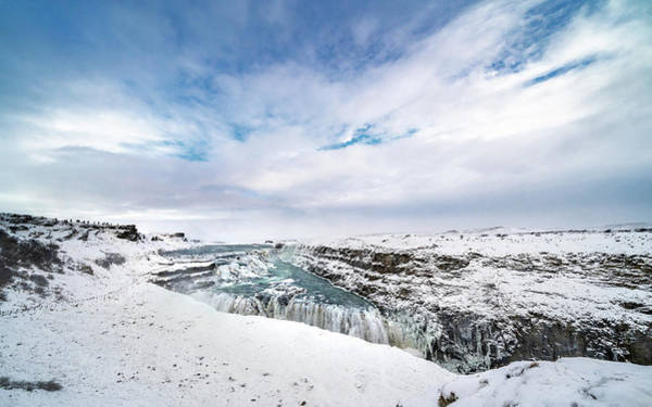 Photograph - Frosty Gullfoss by Framing Places
