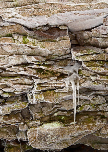 Wall Art - Photograph - Frosty Rocks by Michael Lustbader