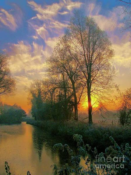 Photograph - Frosty Winter Sunrise by Martyn Arnold