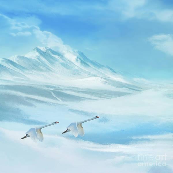 Digital Art - Frozen by Anne Vis