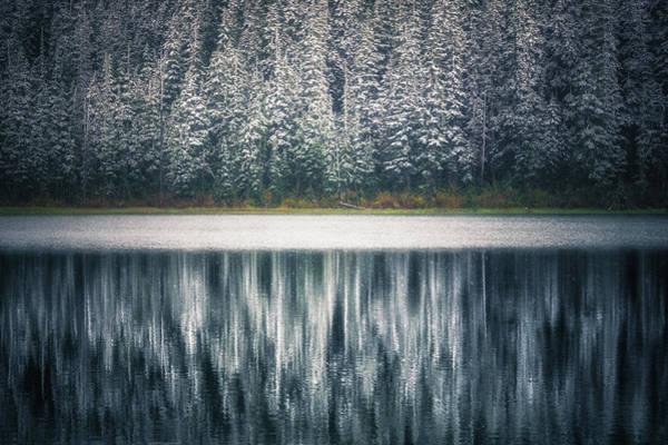 British Columbia Photograph - Frozen Joffre Lake 2  by Chris Fletcher