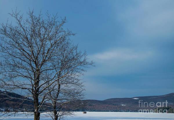 Photograph - Frozen Lake by Alana Ranney